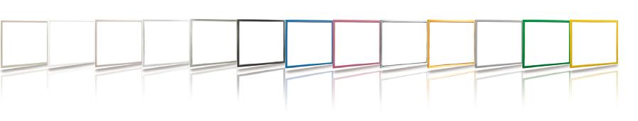 Dostupné farby dekoračných interiérových rámov